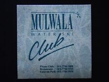 MULWALA WATER SKI CLUB 03 57441888 COASTER