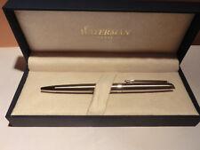 Waterman Hemisphere Kugelschreiber  Edelstahl C.C. mit Box Etui NEU