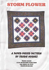 Storm Flower ~ Quilt Quilting Pattern ~ by Patched Works