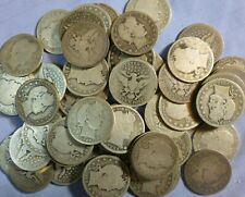 Estate Sale US Coins Silver Barber Liberty Quarters  1892-1916 Type Coin  #BLQA