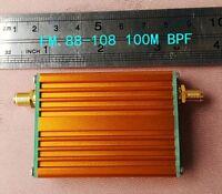 2019 NEW FM 88-108MHz Bandpass filter 100M BPF