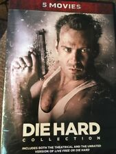 Die Hard Collection (5 Dvd Set) Factory Sealed Fast Shipping