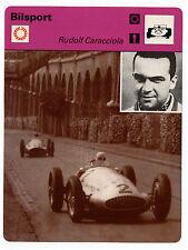 Alemán Motor conductor de carreras Rudolf Caracciola sueca Sportscaster tarjeta de comercio