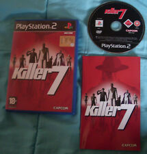 Video Gioco Retr Game Sony Play Station PS 2 ITA SPA Killer 7 Capcom