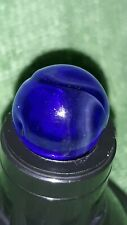 Awesome colbolt blue Ghost Swirl with adventurine RARE MF Christensen? LOOK