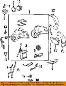 FORD OEM Ac-Blower Motor XF2Z19805FA