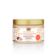 African Pride Moisture Miracle Moroccan Clay Detox Heat Activated Masque 12oz