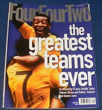 FOURFOURTWO MAGAZINE APRIL 2001 - THE GREATEST TEAMS EVER