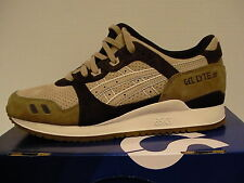 Asics running shoes gel-lyte iii size 7.5 us men sand new with box