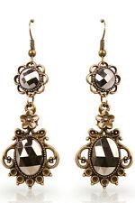 Retro Silver Dangle Earrings Women's Ladies Fashion Costume Jewellery