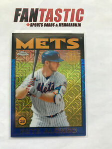2021 Topps Series 1 Silver Pack Blue Parallel /150 85BC-65 Pete Alonso NY METS