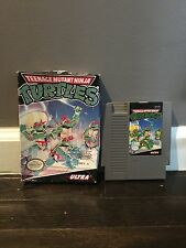 Nintendo NES TMNT Teenage Mutant Ninja Turtles Video Game, Inc. box, no manual