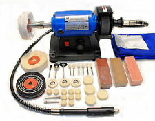 Jewellery Mini Polishing Machine / Polisher (Variable Speed) c/w Flexible Shaft