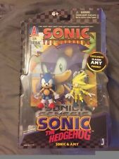 Jazwares Sonic the Hedgehog comic pack ONE OF A KIND MISPACKAGE Super Silver