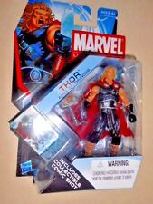 """THOR ( 4"""") AGES OF THUNDER 2011 MARVEL UNIVERSE ( SERIES #4 ) ACTION FIGURE #001"""