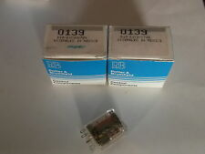 R10-E1Y2-V700 - QTY 3 -  DPDT 24VDC P&B RELAY - NEW