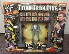 VINTAGE WWF JAKKS TITAN TRON LIVE ACTION FIGURE SET HASBRO WCW WWE ELITE