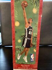 Tim Duncan Hoop Stars #7 Hallmark Keepsake Collector's Series Ornament 2001 Nib