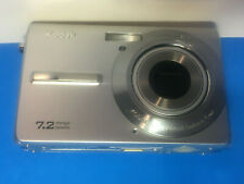 Kodak EasyShare M763 7.2MP Digital Camera - Silver