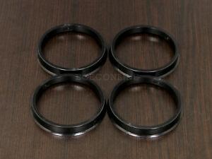 (4) Plastic Hub Centric Rings - 65.1mm - 72.6mm (65-72.56)
