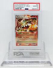 Pokemon STORMFRONT HEATRAN LV X 97/100 ULTRA RARE HOLO PSA 10 GEM MINT #28625472