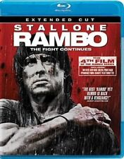 Rambo (extended Cut) 0012236110422 With Cameron Pearson Blu-ray Region a