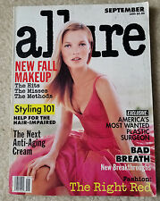 Allure 1995 Kate Moss Stephanie Seymour Niki Taylor Trish Goff Guinevere Seenus