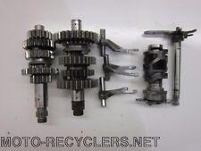 03 WR250F WR 250F transmission trans shafts gears 37