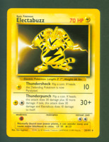 Pokemon Base Set Electabuzz Trading Card TCG WOC 1999 20/102 Unused NM-MT