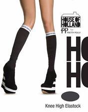 Hautes maison of holland Elastock. pretty polly. noir. taille unique