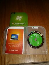 Microsoft windows 7 home premium upgrade VG Cond.