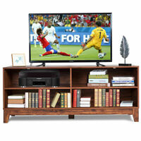 "58"" Modern Wood TV Stand Console Storage Entertainment Media Center Living Room"