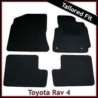 Toyota RAV4 Mk2 XA20 2001-2005 Tailored Fitted Carpet Floor Car Mats BLACK