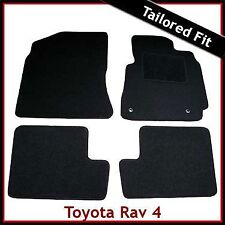 Toyota RAV4 Mk2 XA20 2001-2005 Tailored Fitted Carpet Floor Car Mats BLACK