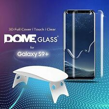 Samsung Galaxy S9 Plus Tempered Glass Shield Dome Glass Whitestone Protector New