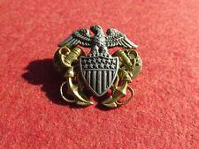 Us Navy Usn overseas hat Badge clutch back N S Meyer