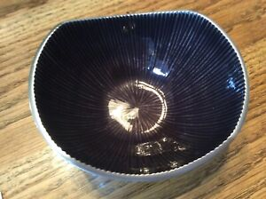 NEW w TAG BODONI BOWL GRAPHITE 5""