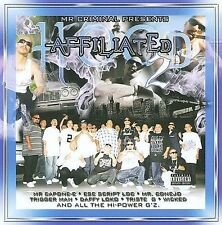 Chicano Rap CD Mr. Criminal - Hood Affiliated Part 2 - Triggerman BOZO Lil Cuete