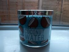 BATH AND BODY WORKS 3-Wick Candle  Coconut Water