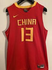 2008 Beijing Olympic Nike Basketball Fiba Team China Yao Ming Jersey Size Large