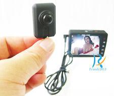 Black screw Lcd mini spy high Hd camera micro hidden pinhole video recorder Dvr