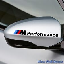 2 x BMW Aufkleber für rückspiegel Sticker Tattoo Auto M3 M5 M6 Neu 2016