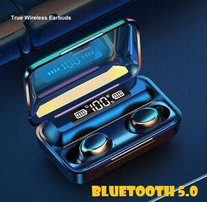 Wireless Earphones Headphones Bluetooth In-Ear Earbuds For iPhone Samsung
