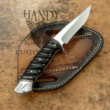 HANDY CUSTOM MADE D2 TOOL STEEL BLADE, TACTICAL, SURVIVAL HUNTING KNIFE
