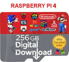 RETROPIE RASPBERRY PI4 256 GB DIGITAL IMAGE READY & WORKING