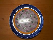 """Essex Bois D'Arc TUTTI FRUITTI Dinner Plate 10 1/8"""" Peas 1 ea"""