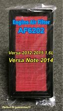 AF6202 CA11215 Engine Air Filter Replacement for Versa 2012-15 1.6L Versa Note