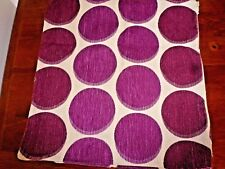 Cushion Cover Cream with Burgundy Polka Dots