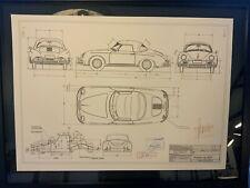 Limitierter ARTprint Porsche 356 A Roadster