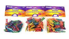 Bazic Art Craft Mini Colored Wood Clothespins 150 PC Clothes Pins